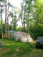 Emplacements au camping les 2 Bois à Baratier, embun Hautes-Alpes