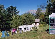 Camping à Baratier Embrun, lac de serre poncon hautes-alpes
