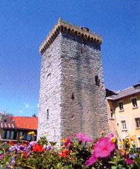 La Tour Brune à Embrun