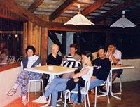 Restaurant du camping Les 2 Bois à Baratier, Hautes-Alpes.